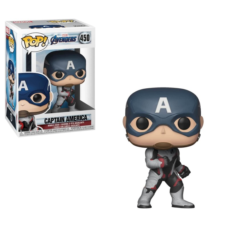 Figurine Pop Captain America (Avengers Endgame)
