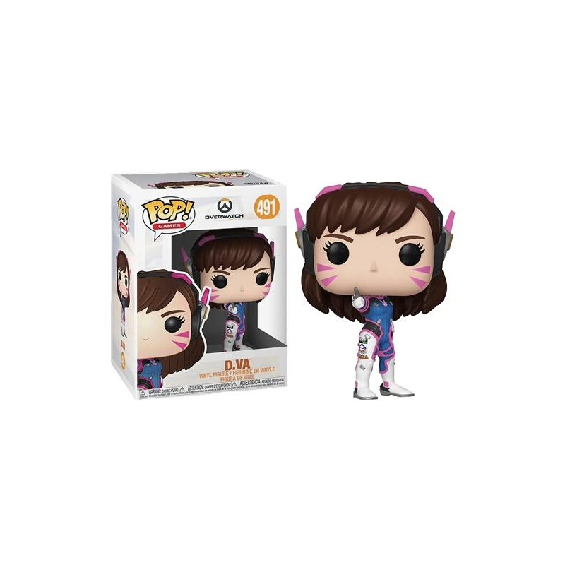 Figurine Pop D.Va (Overwatch)