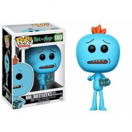 Figurine Pop Meeseeks avec boîte Exclusive (Rick and Morty)