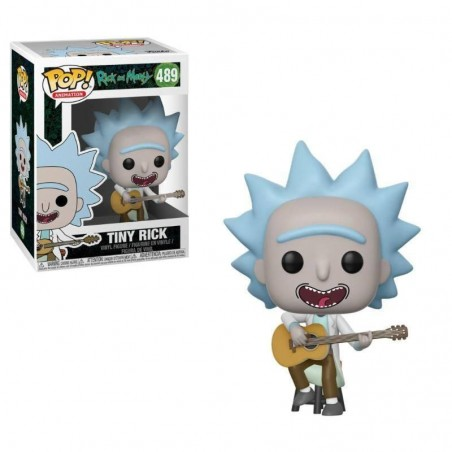 Figurine Pop Tiny Rick with Guitar (Rick and Morty)