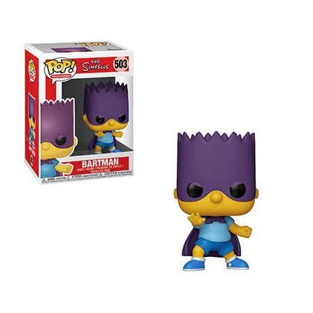Figurine Pop Bart Bartman (Les Simpson)