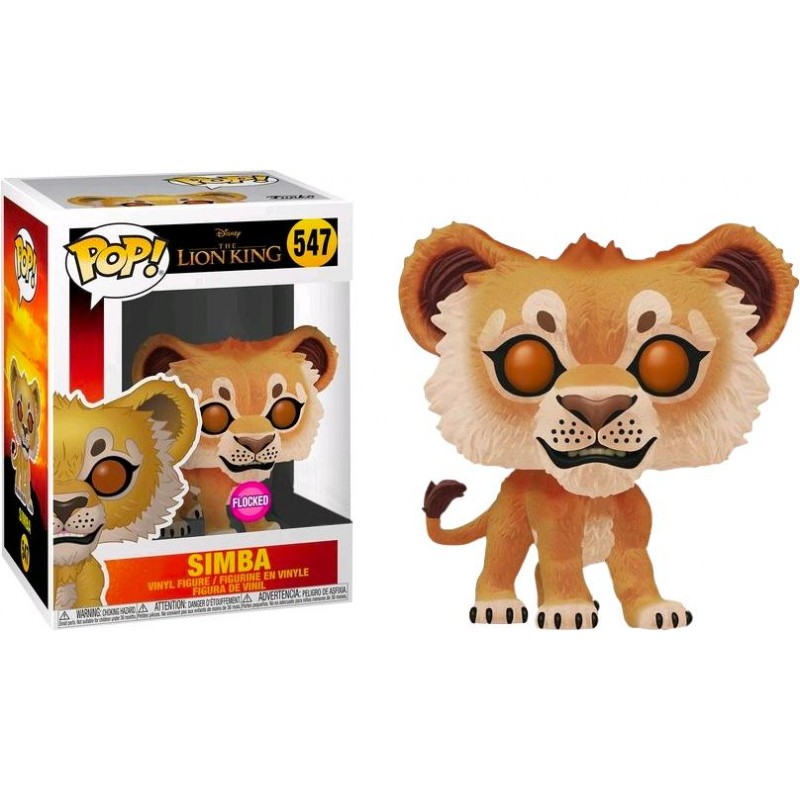 Figurine Pop Simba Flocked Exclusive (Le Roi Lion Live Action)