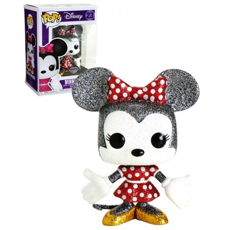 Figurine Pop Minnie Mouse Diamond Exclusive (Disney)