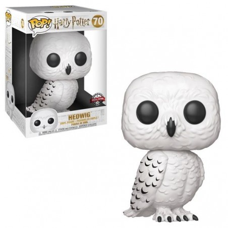 "Figurine Pop Hedwige 10"" Exclusive (Harry Potter)"