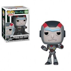 Figurine Pop Rick in Mech Suit (Rick and Morty) -  Figurines Pop Rick and Morty