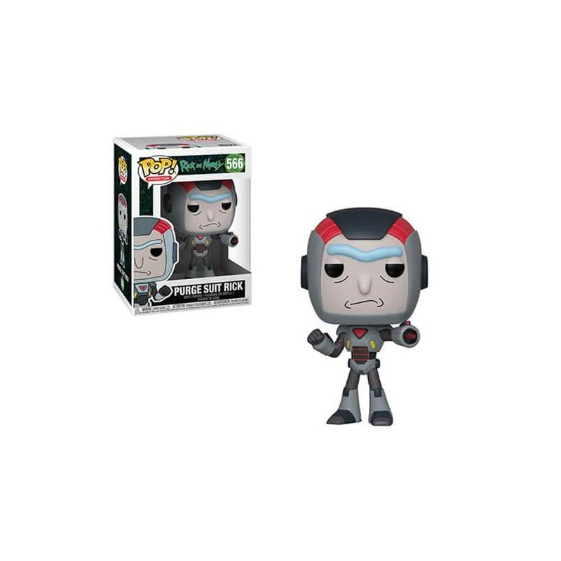 Figurine Pop Rick in Mech Suit (Rick and Morty)