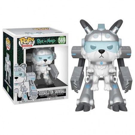 Figurine Pop Exoskeleton Snowball (Rick and Morty)