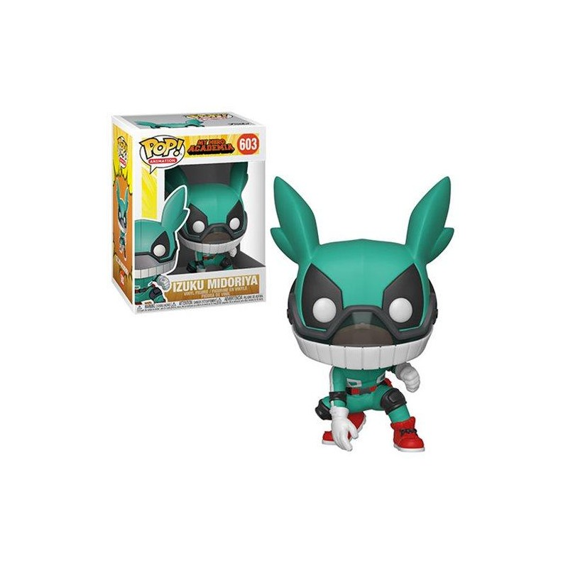 Figurine Pop Deku avec Casque (My Hero Academia)