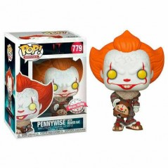 Figurine Pop Pennywise with Beaver Hat Exclusive (IT) -  Figurines Pop Horreur