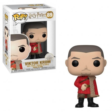 Figurine Pop Viktor Krum Bal de Noël (Harry Potter)