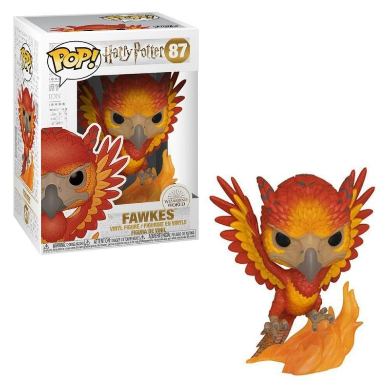 Figurine Pop Fawkes (Harry Potter)