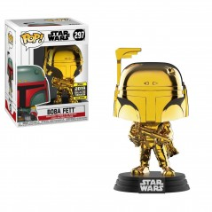 Figurine Pop Boba Fett Gold Chrome Galactic Convention (Star Wars)