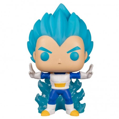Figurine Pop Vegeta Powering Up Exclusive GITD (Dragon Ball Super)