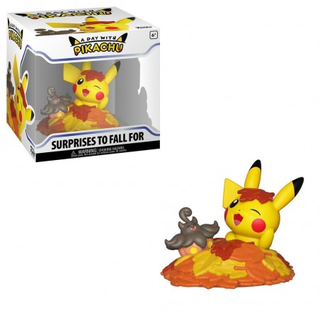 Funko Pop A Day with Pikachu - Surprises To Fall For -  Exclusive