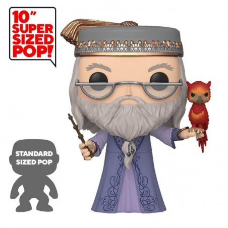 "Funko Pop Dumbledore Avec Fumseck 10"" (Harry Potter)"