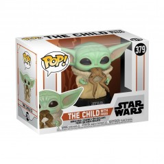 Figurine Pop The Child / Baby Yoda with frog (Star Wars Mandalorian) -  Figurines Pop The Mandalorian