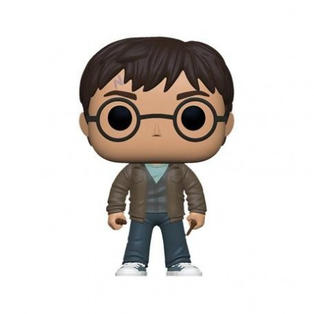 Figurine Pop Harry Potter avec deux baguettes Exclusive (Harry Potter)