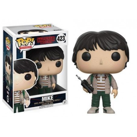 Funko Pop! Stranger Things - Mike avec Talkie Walkie