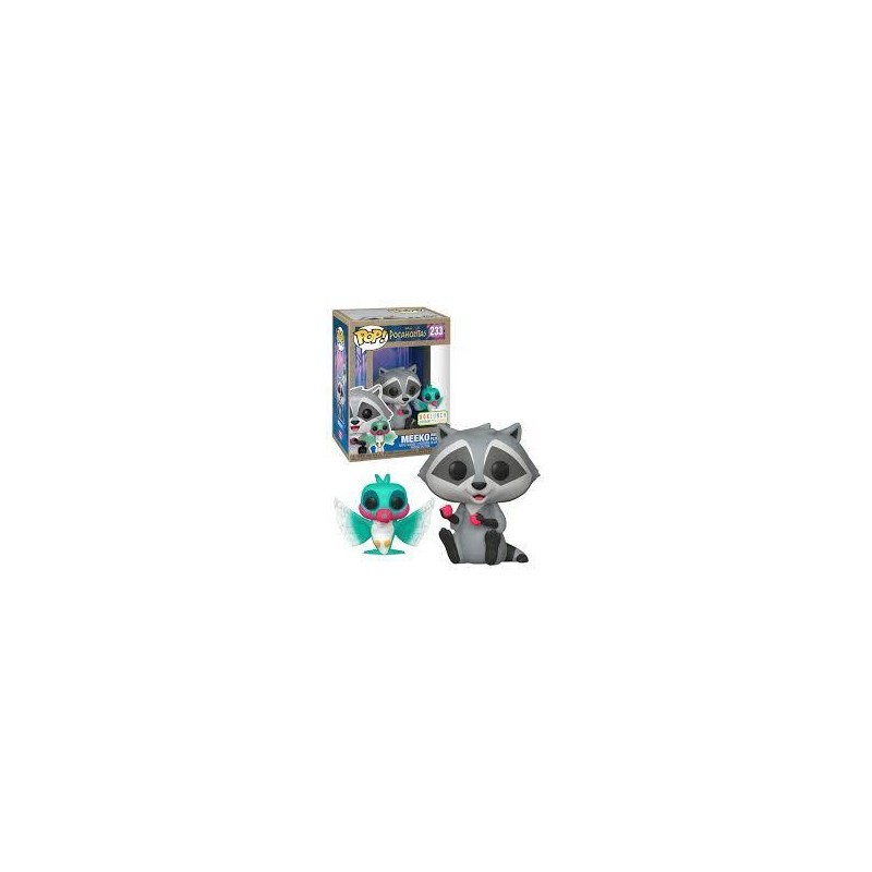 Figurine Pop Meeko with Flit Earth Day Exclusive (Disney Pocahontas)