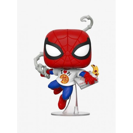 Figurine Pop Spider-Man with pizza Exclusive (Marvel Eat The Universe)