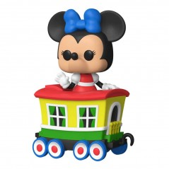 Figurine Pop Minnie Mouse on the Casey Jr. Circus Train Attraction Exclusive (Disneyland 65Th Anniversary)