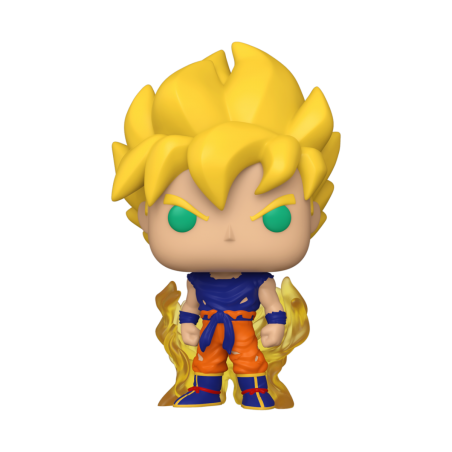 Figurine Pop Super Saiyan Goku First Appearance (Dragon Ball Z)