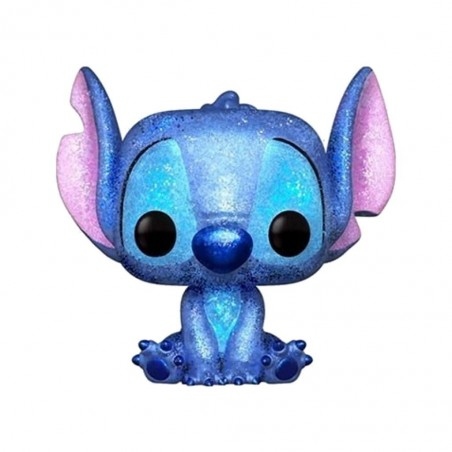Figurine Pop Stitch Assis Diamond Glitter Exclusive (Disney)