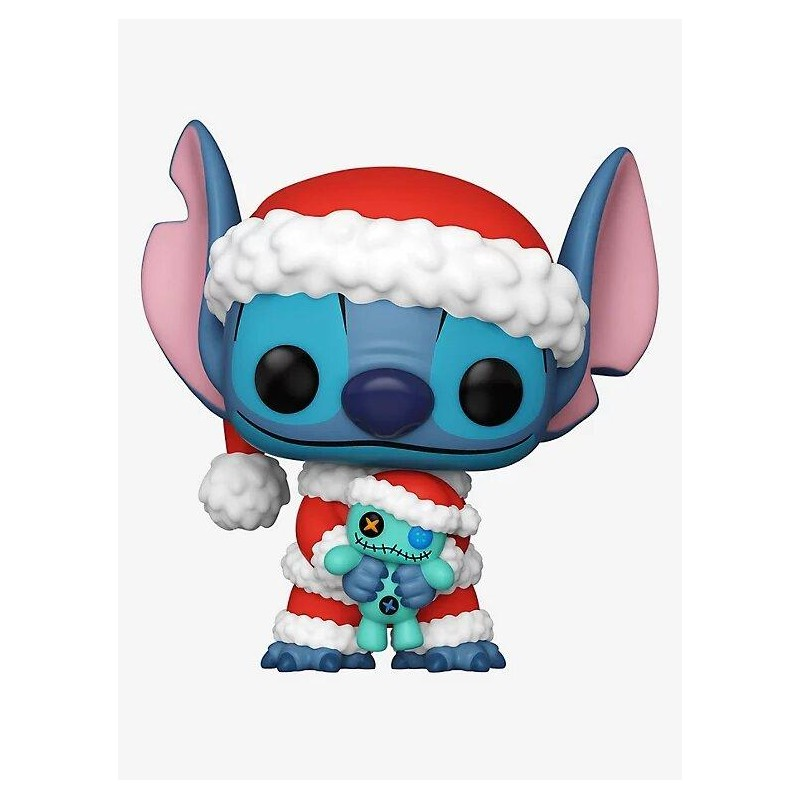 Figurine Pop Stitch and Scrump Holiday Exclusive (Disney Lilo & Stitch)