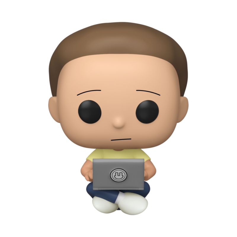 Figurine Pop Morty with laptop Exclusive (Rick and Morty)