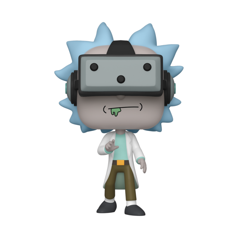 Figurine Pop Gamer Rick Exclusive (Rick and Morty)