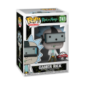 Funko Pop Gamer Rick Exclusive (Rick and Morty)