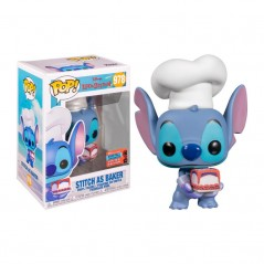 Figurine Pop Stitch as Baker Exclusive NYCC 2020 (Disney Lilo & Stitch)