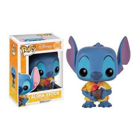 Figurine Pop Aloha Stitch Exclusive (Disney Lilo & Stitch)