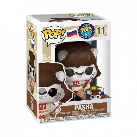 Figurine Pop Pasha Exclusive (Around The World)