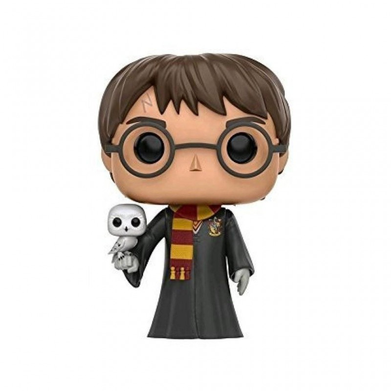 Figurine Pop Harry Potter avec Hedwige (Harry Potter)