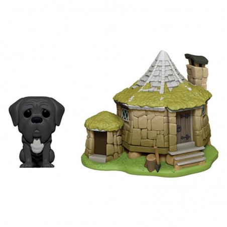 Figurine Pop Hagrid's Hut with Fang (Harry Potter)