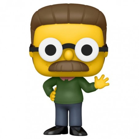 Figurine Pop Ned Flanders Exclusive Hot Topic (Les Simpson)