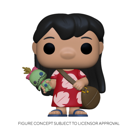 Figurine Pop Lilo with Scrump (Disney Lilo & Stitch)
