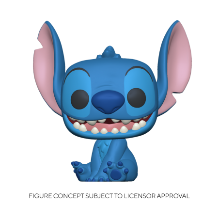Figurine Pop Smiling Seated Stitch (Disney Lilo & Stitch)