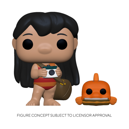 Figurine Pop Lilo With Pudge (Disney Lilo & Stitch)