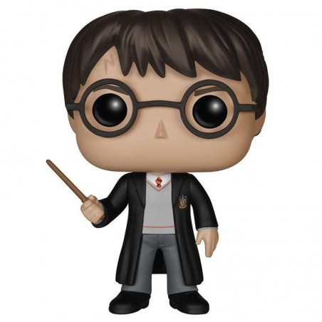 Figurine Pop Harry Potter avec baguette (Harry Potter)