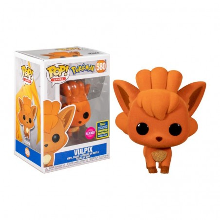 Figurine Pop Vulpix - Goupix Flocked Exclusive SDCC 2020 (Pokemon)