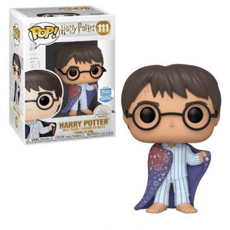 Figurine Pop Harry Potter avec cape d'invisibilité Exclusive Funko Shop (Harry Potter)