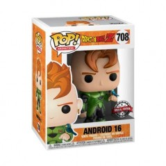 Figurine Pop Android 16 Metallic Exclusive Special Edition (Dragon Ball Z) -  Figurines Pop Dragon Ball