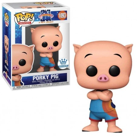 Figurine Pop Porky Pig Exclusive Funko Shop (Space Jam a New Legacy) -  Exclusive