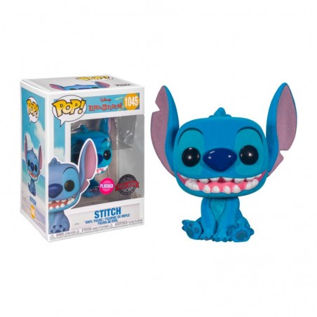 Figurine Pop Smiling Seated Stitch Exclusive (Disney Lilo & Stitch) -  Figurines Pop Lilo et Stitch