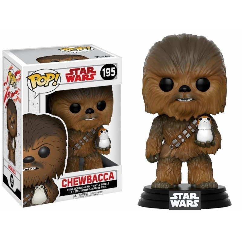 Funko Pop! Star Wars - The last Jedi - Chewbacca