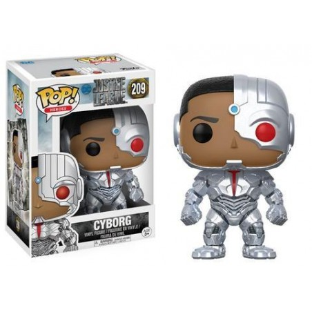 Figurine Pop Cyborg (Justice League)