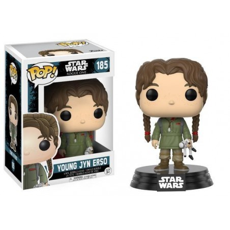 Figurine Pop Young Jyn Erso (Star Wars Rogue One)