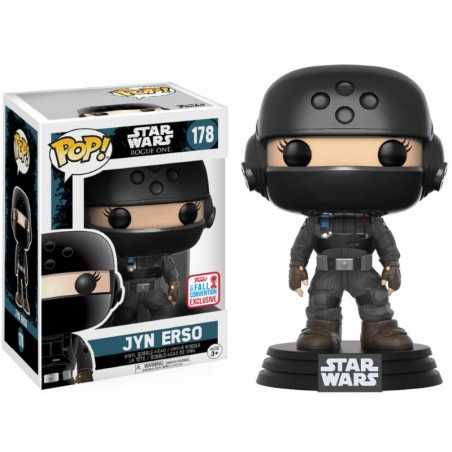 Funko Pop! Star Wars - Rogue One - Jyn Erso NYCC 2017